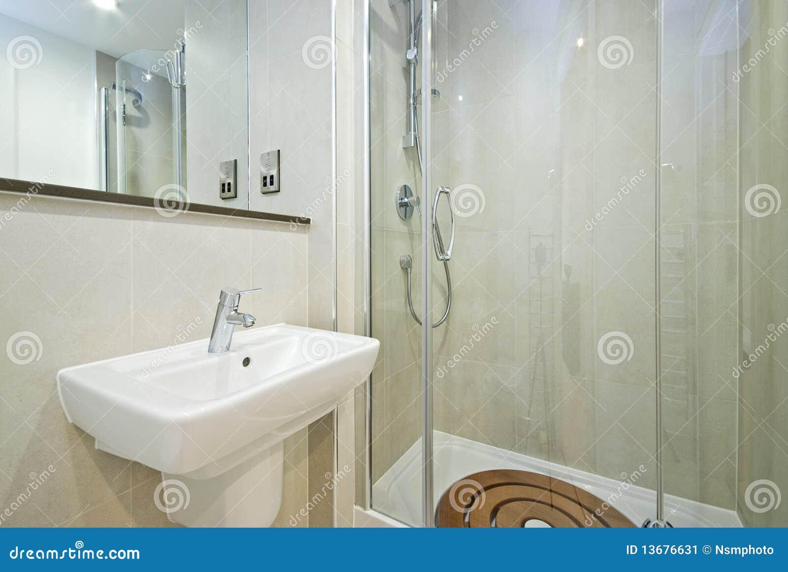 Banheiro moderno da série do en