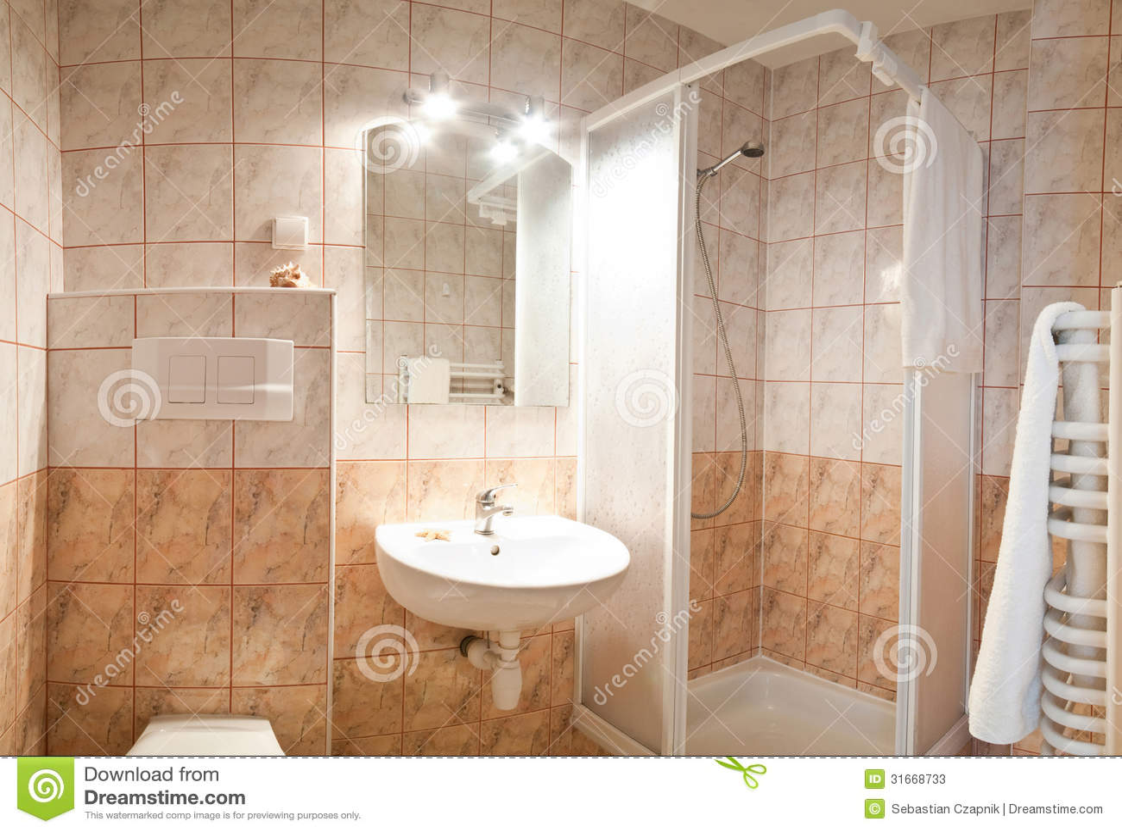 Banheiro Moderno Luxuoso Fotos de Stock Imagem: 31668733 #84A922 1300x982 Banheiro Bonito E Moderno