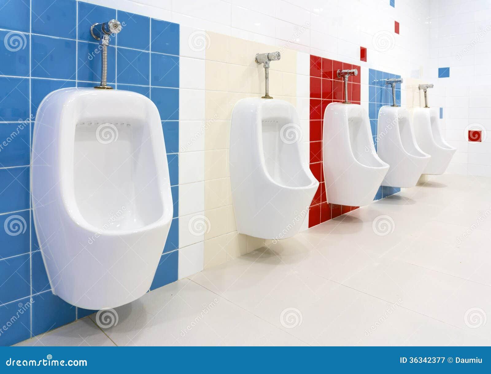 Banheiro Pré escolar Fotografia de Stock Royalty Free Imagem  #95180D 1300 1006