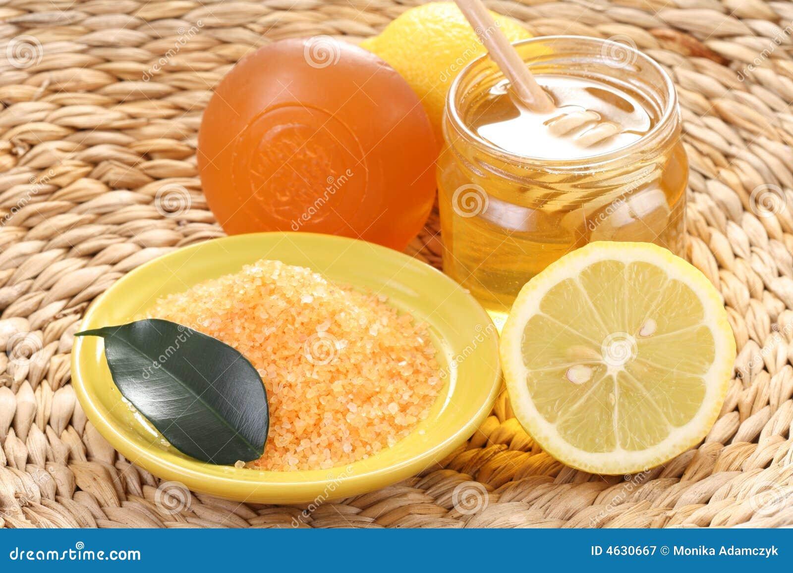 Banho do mel e do limão