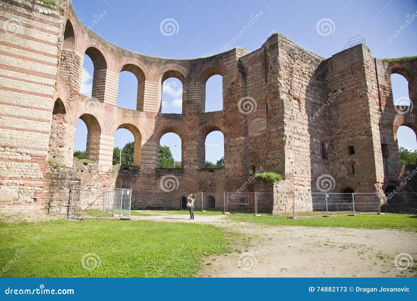 Banhos imperiais, Kaiserthermen, Trier, Alemanha