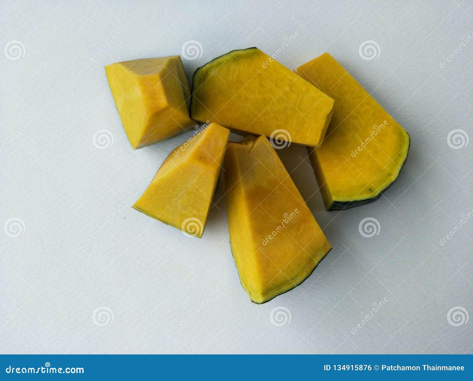 Bani zieleni barkentyny kolor żółty diced