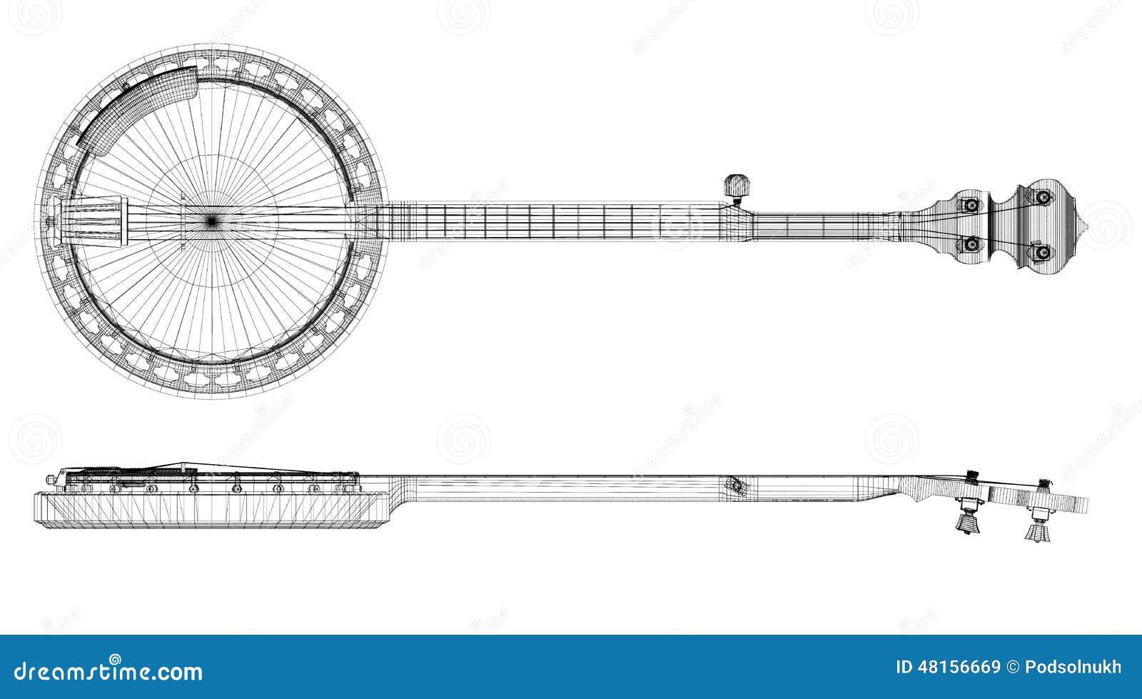 Banjo - ficelle 5
