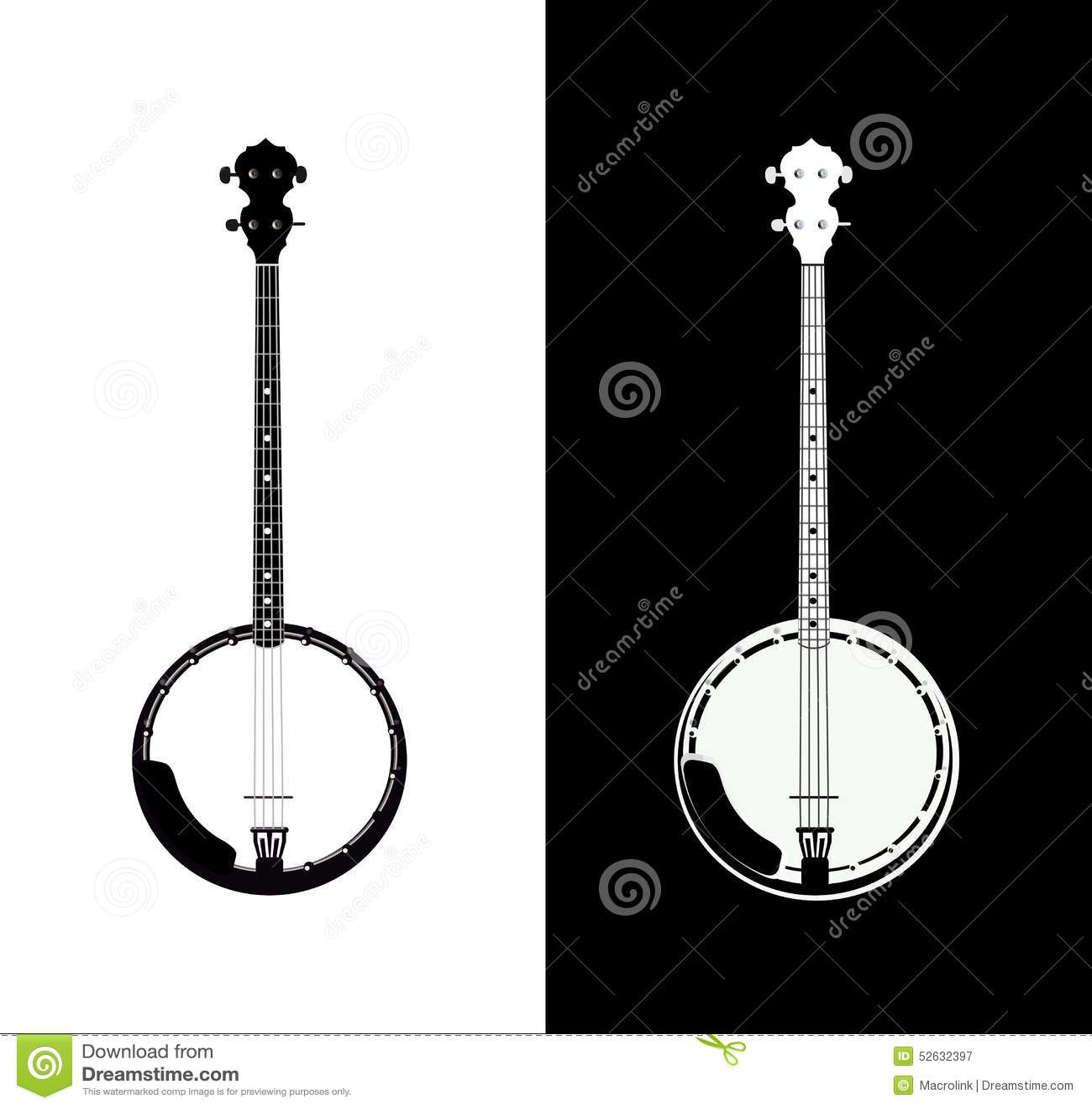 Banjo isolato