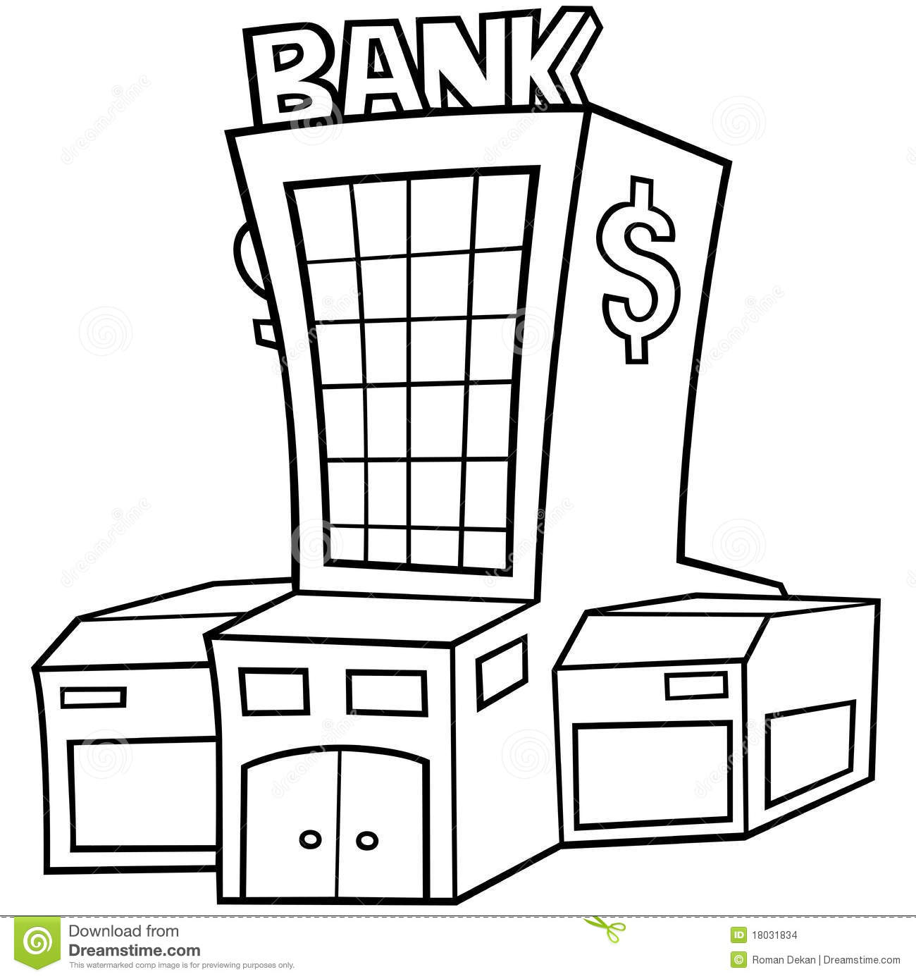 Bank Stock Images Image 18031834