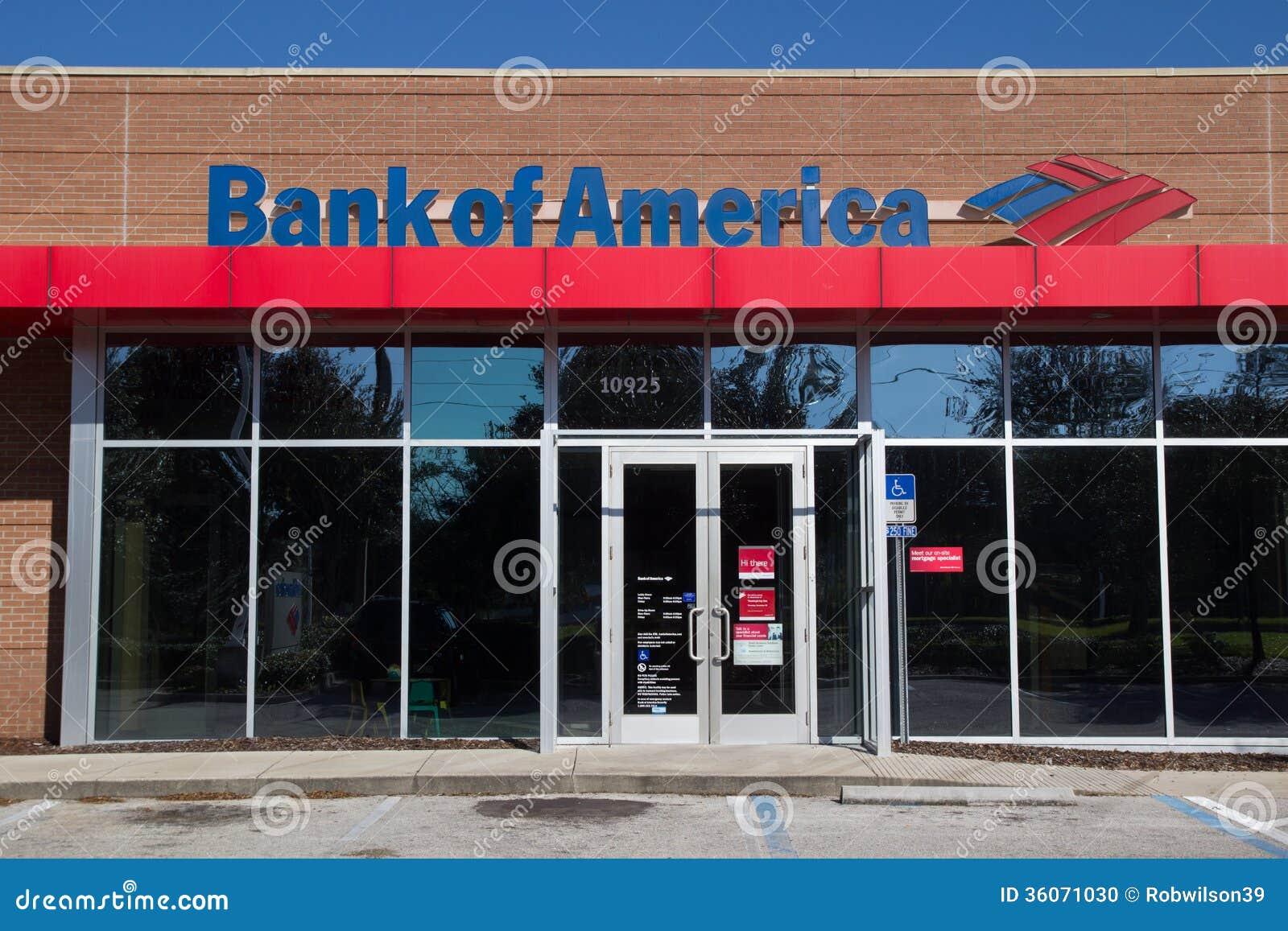 Bank Of America Stock Photo 36071030 Megapixl