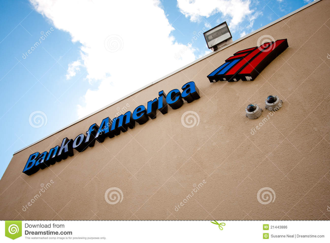 Bank of America la muestra
