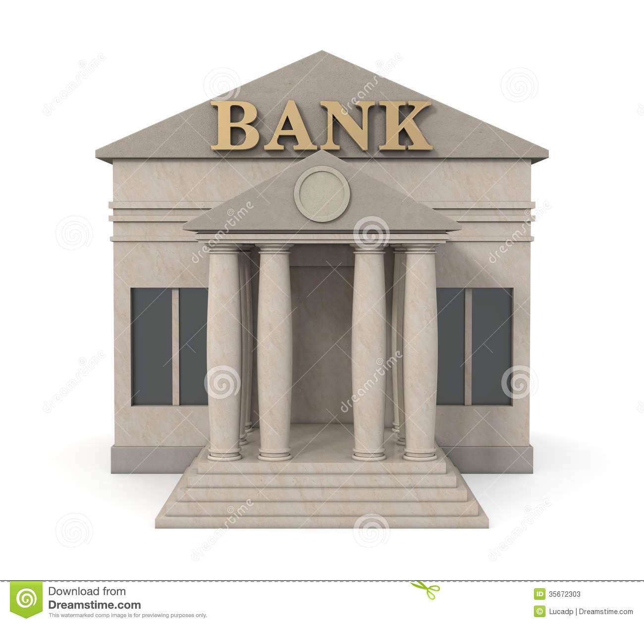 Bank Building Clipart Bank building stock photos