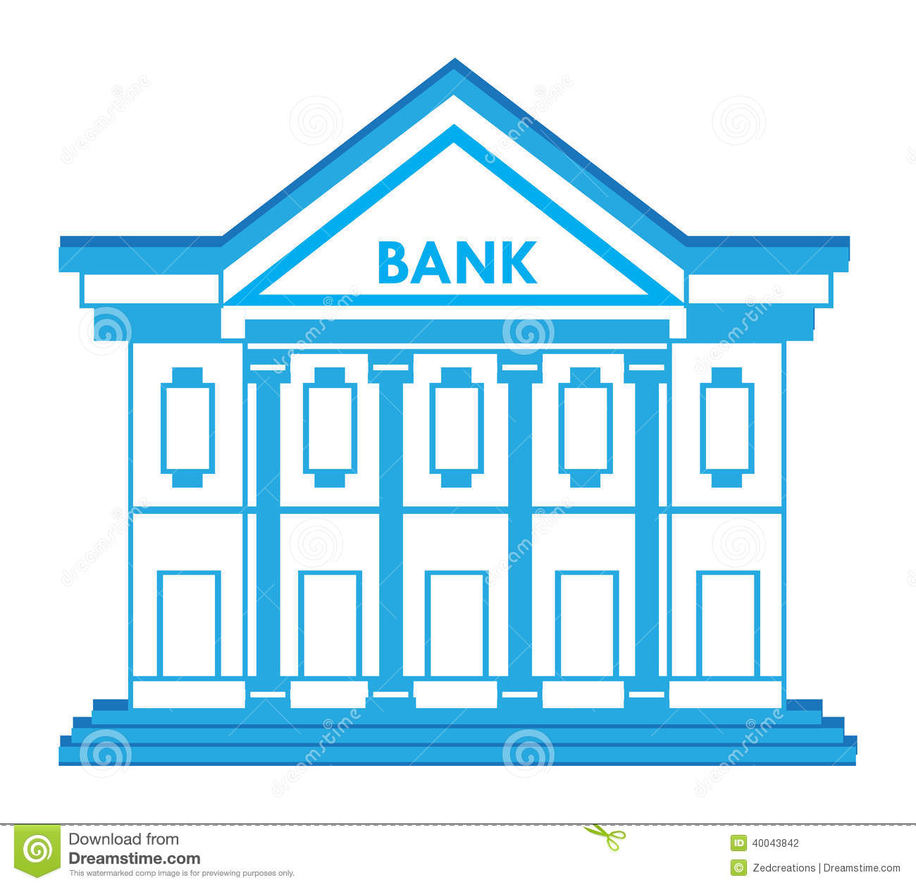 bank building icon - photo #11