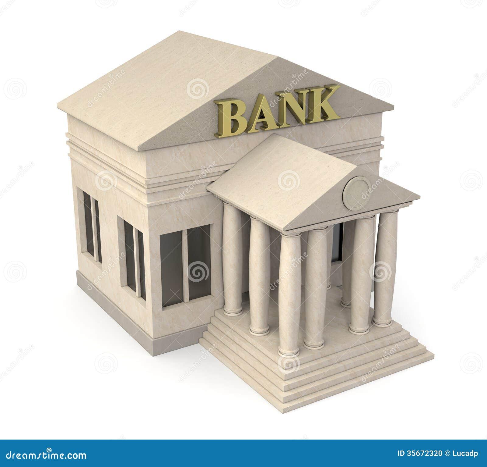 Bank Building Stock Photo Image 35672320