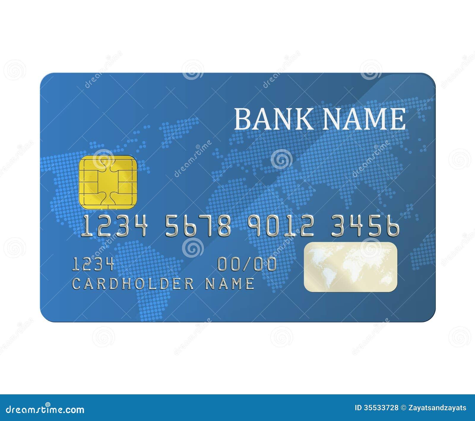 card bank: