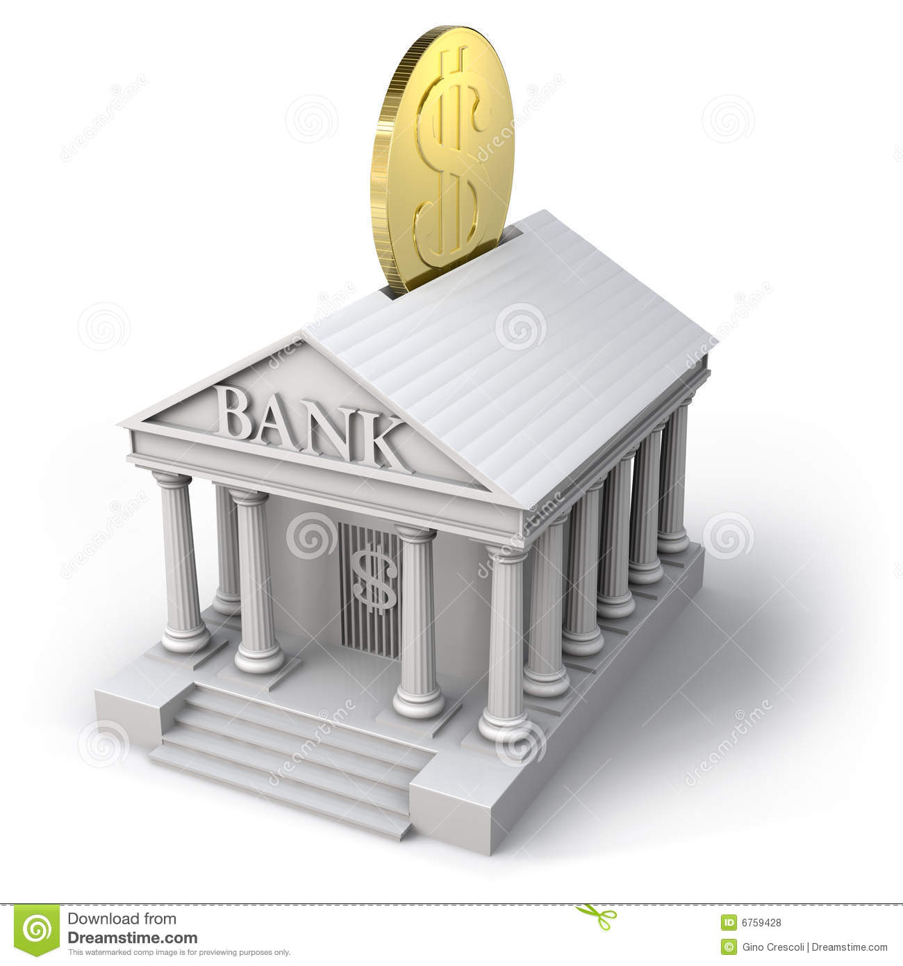 How To Read Building Plans Bank Icon Royalty Free Stock Photos Image 6759428