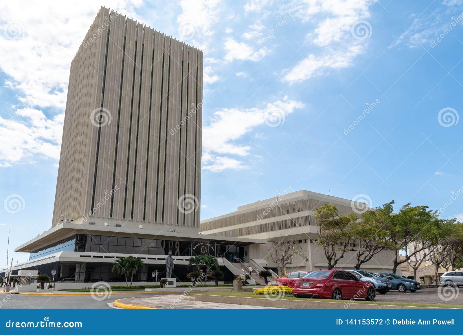 Bank Jamajka bank centralny w Jamajka
