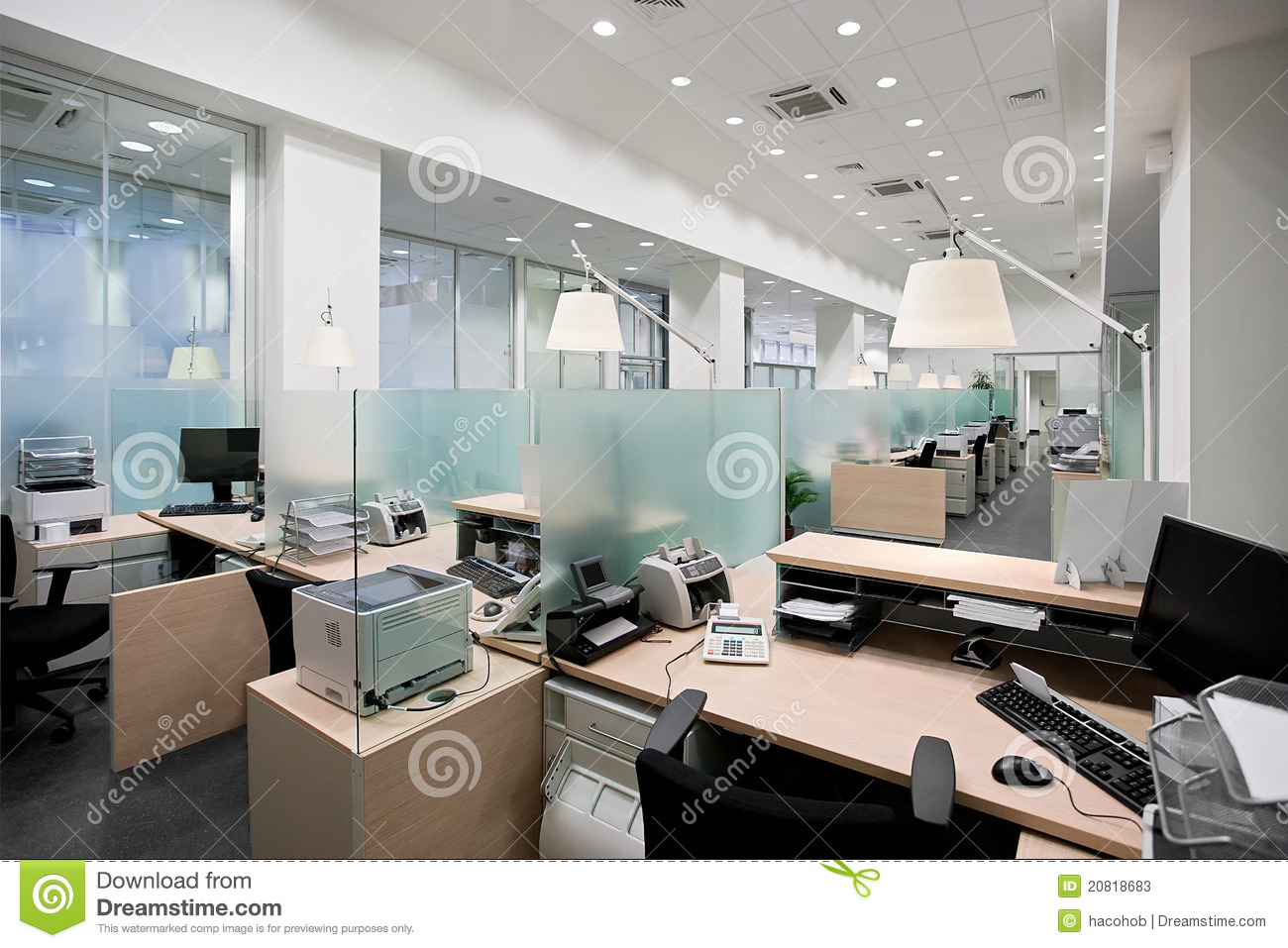 Bank Office Stock Photos - Image: 20818683