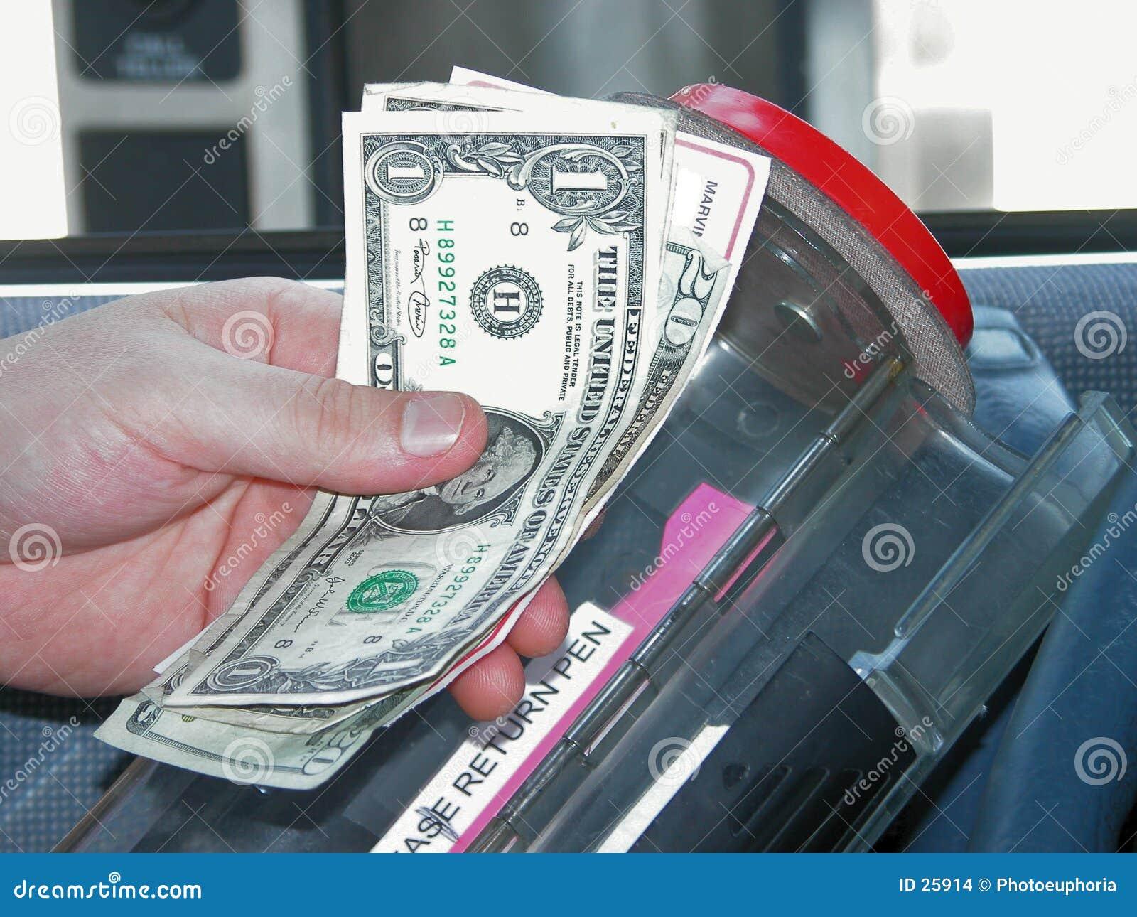 Bank przejażdżkę bankowej maszyny,
