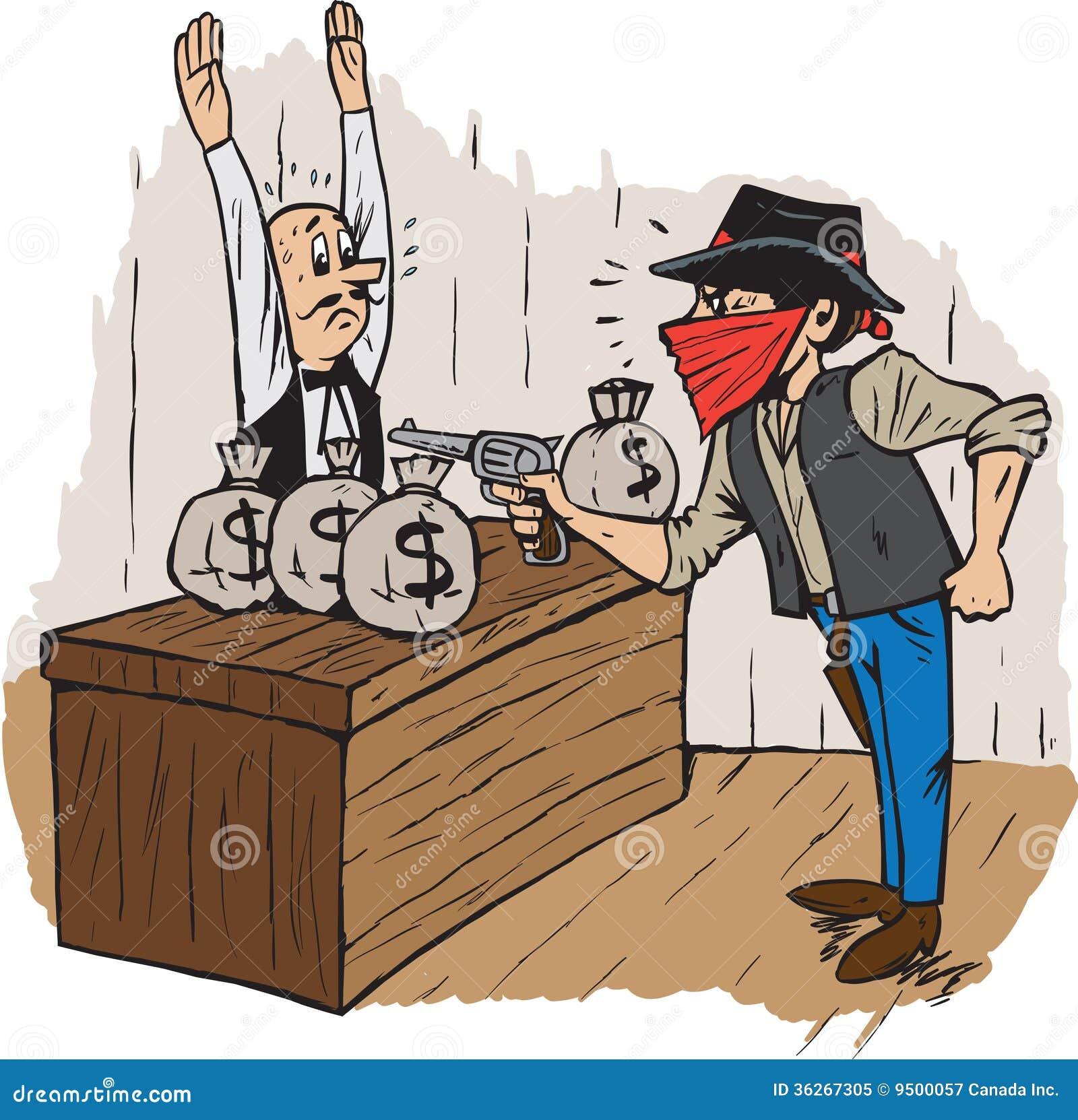 Robbery Stock Illustrations