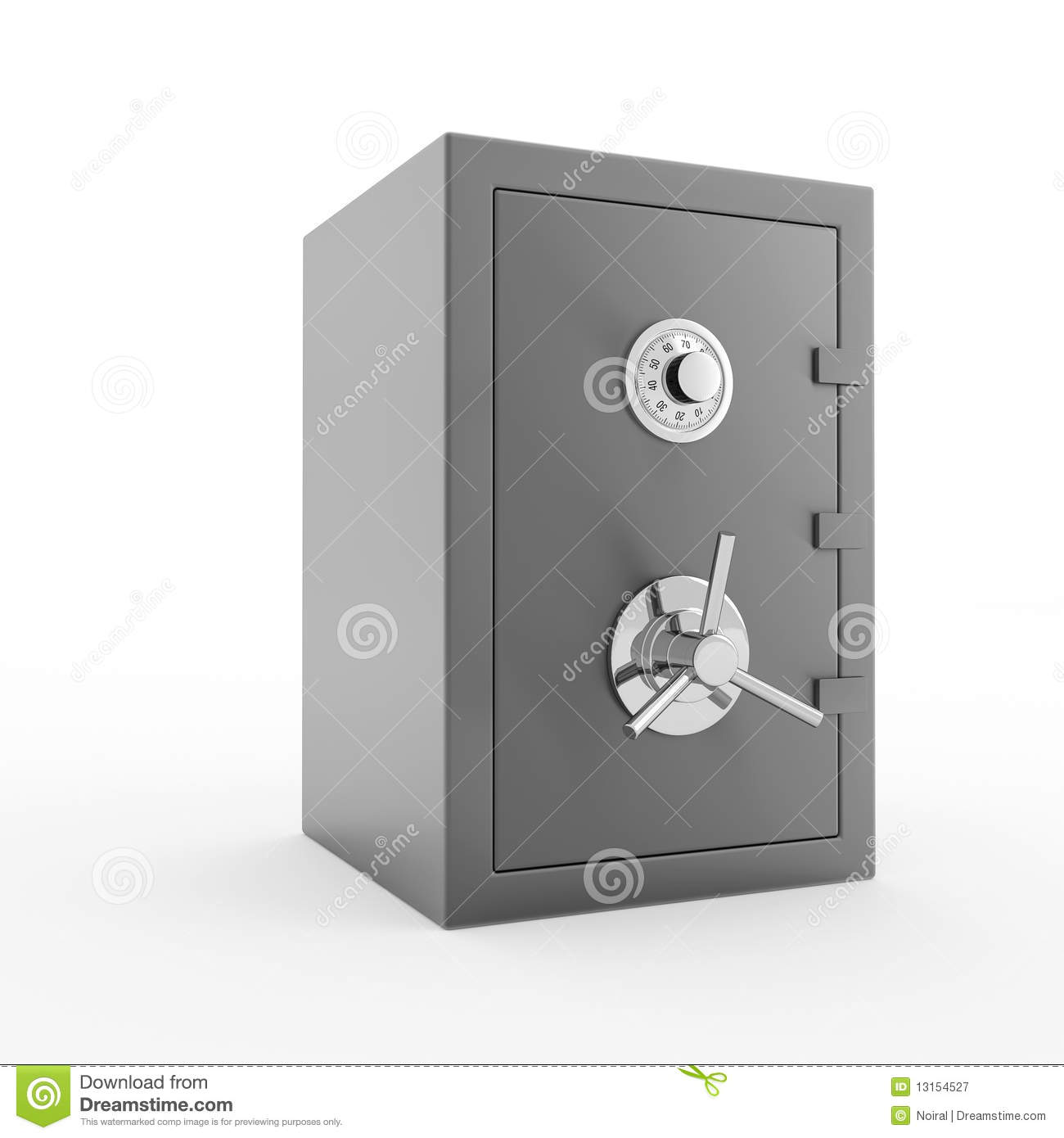 Bank Safe Royalty Free Stock Photography Image 13154527