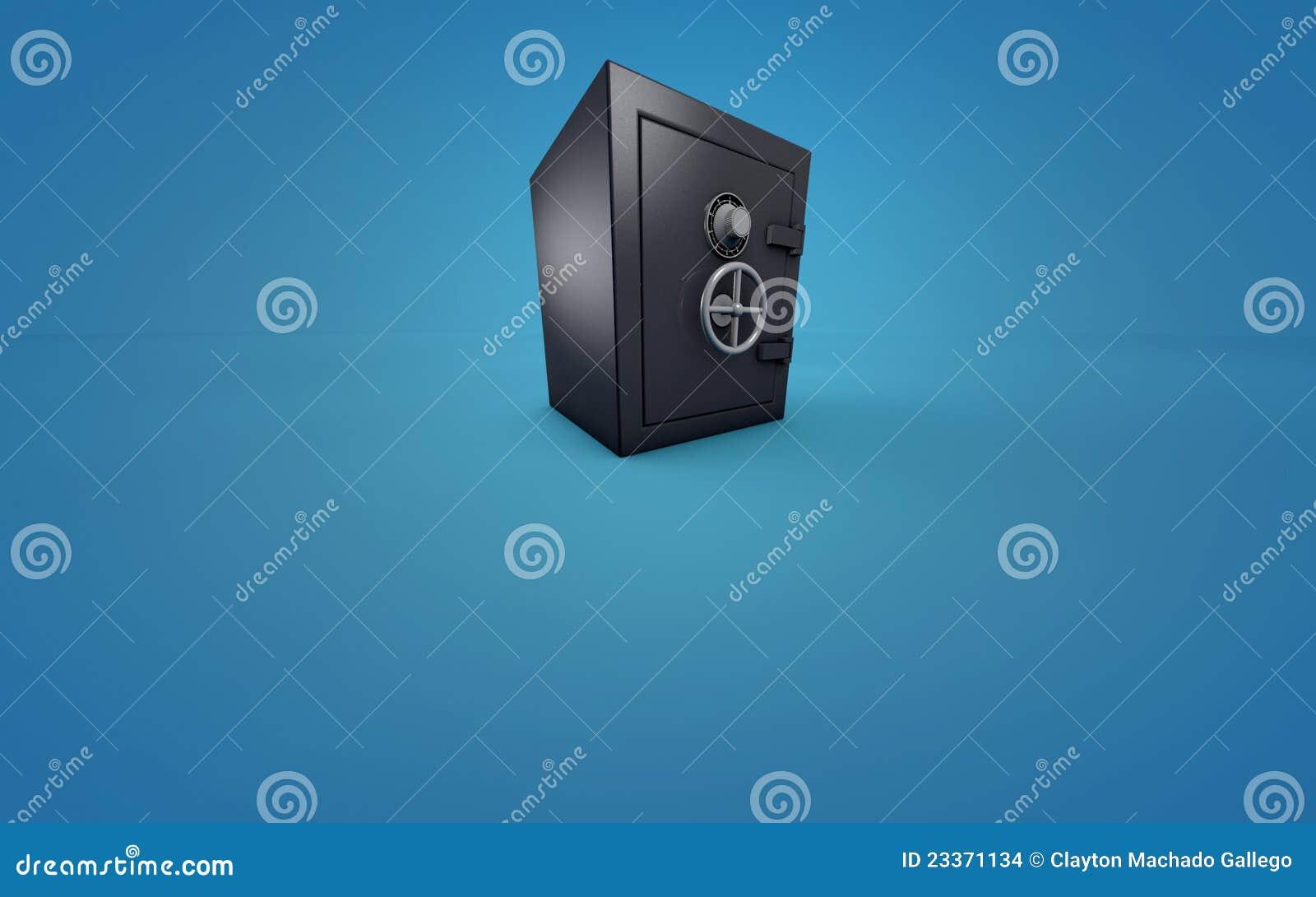 Bank vault or safe
