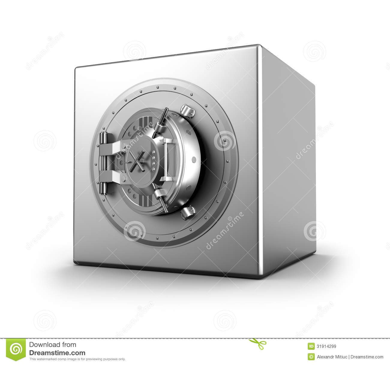 Bank Safe Royalty Free Stock Images Image 31914299