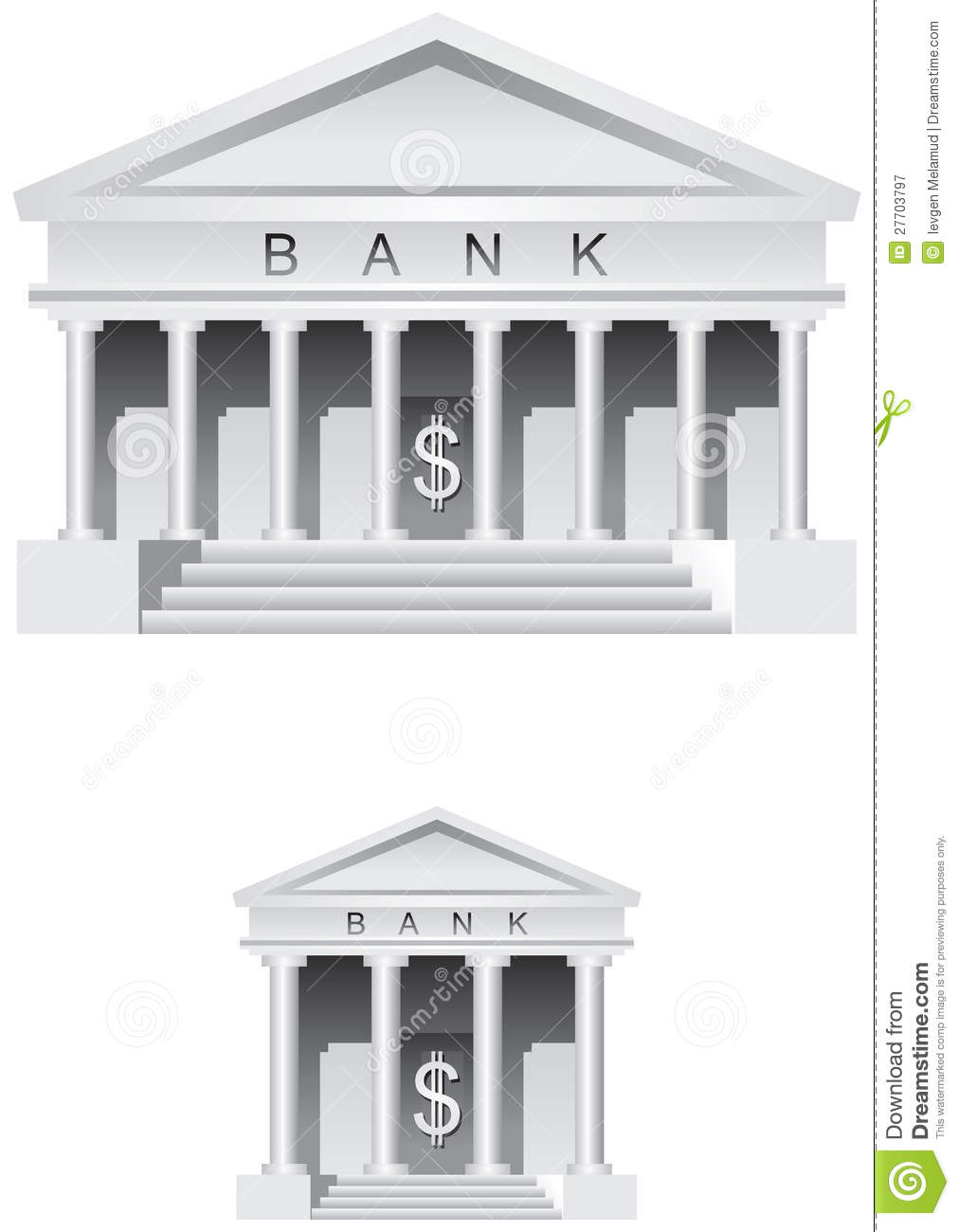 Bank symbol and icon stock vector illustration of plan 27703797 bank symbol and icon biocorpaavc Gallery