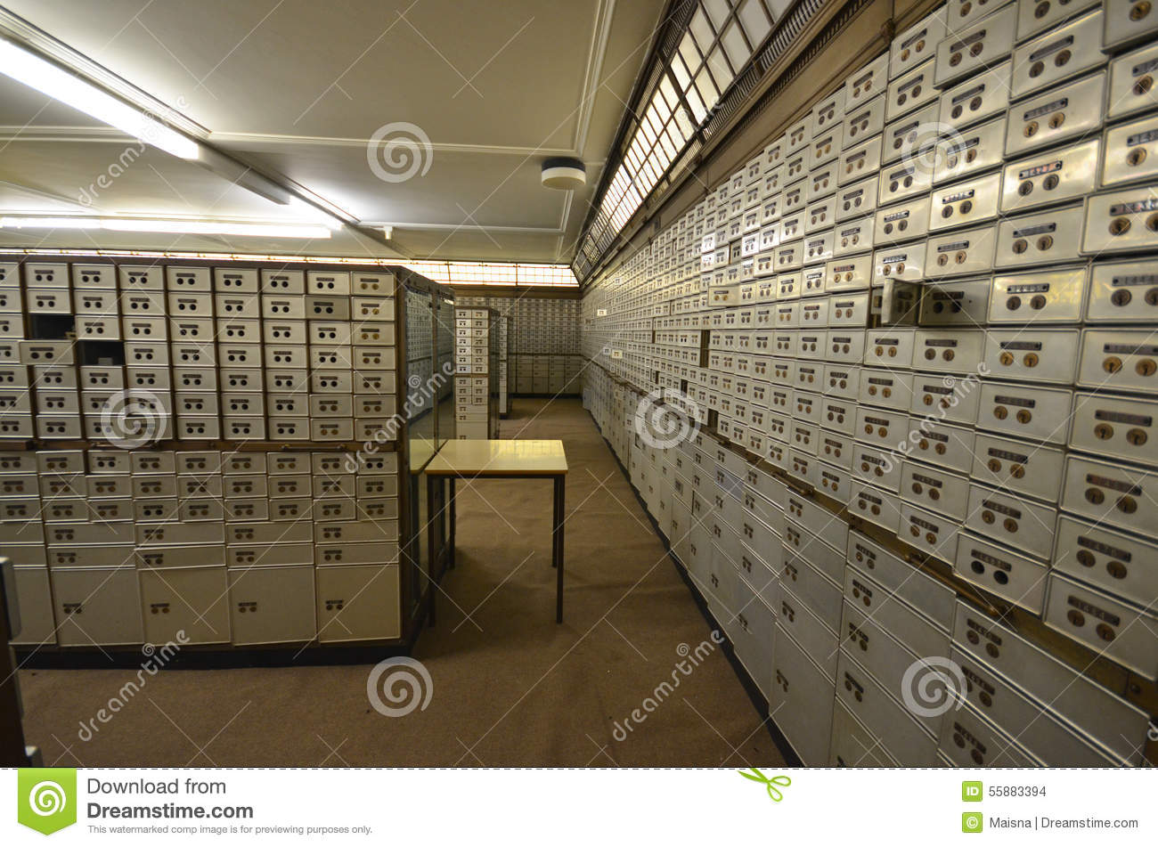 Bank Vault Room Stock Photo Image Of Financial Economy