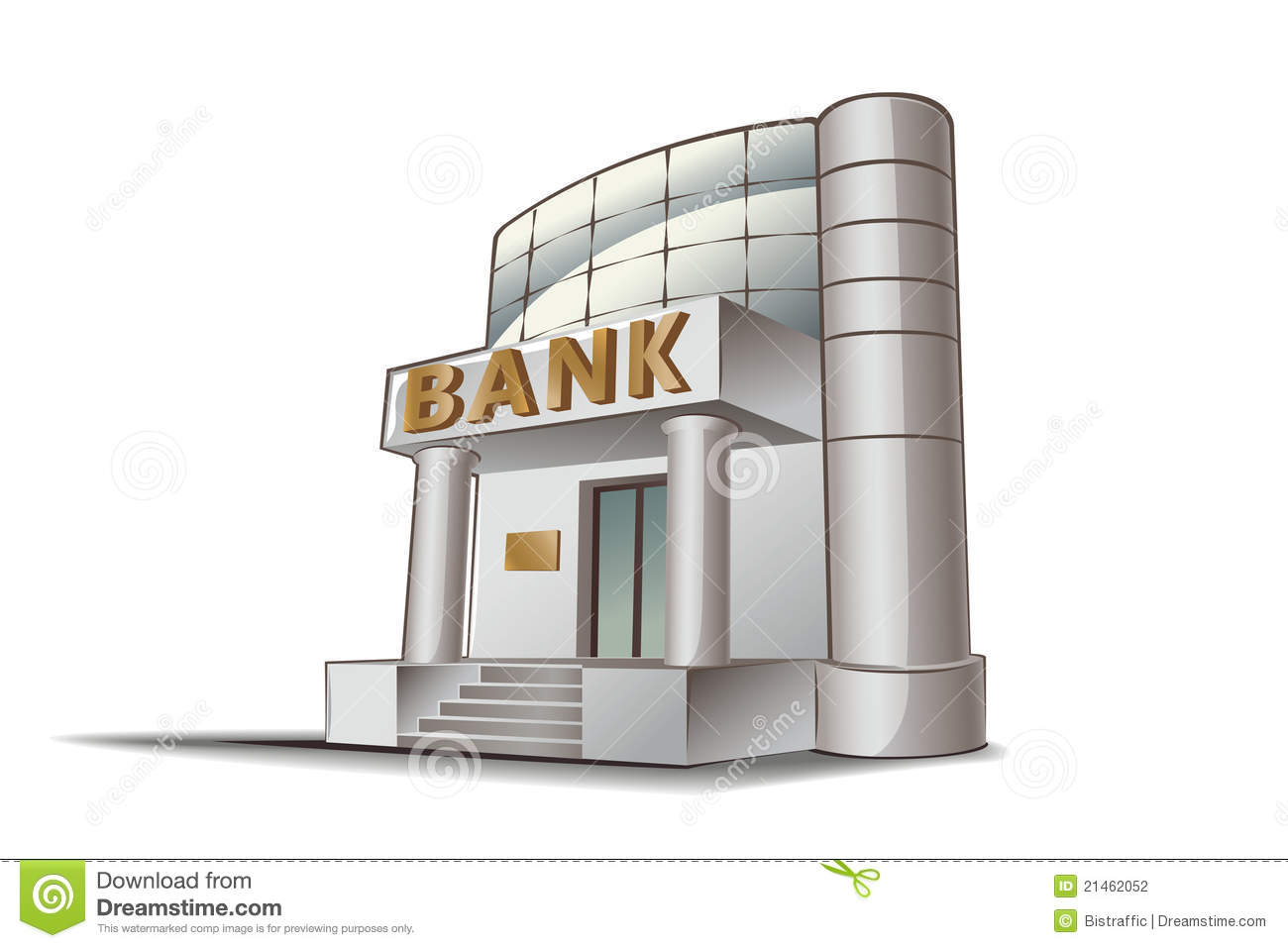Bank Vector Illustration Stock Photography Image 21462052