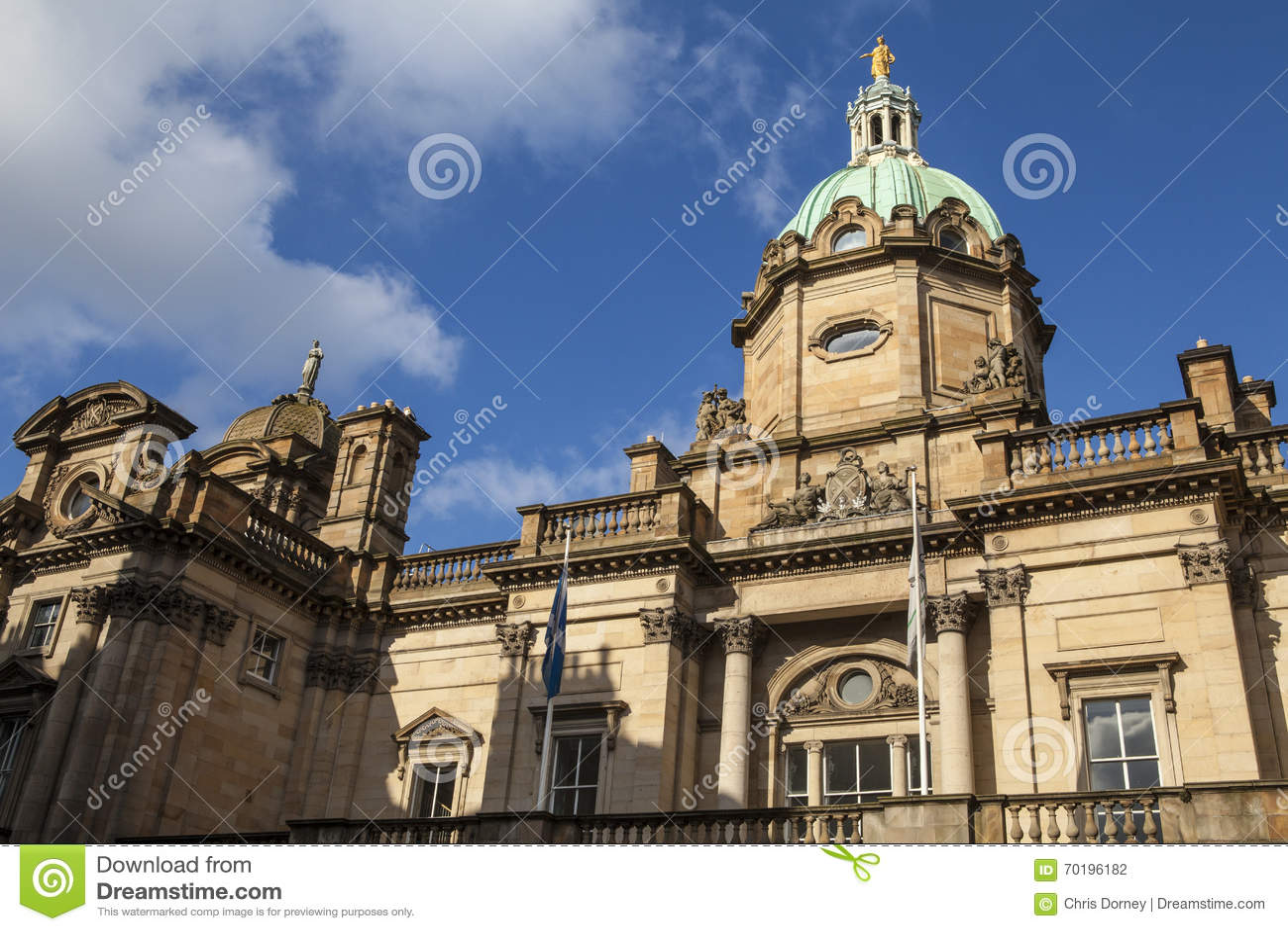 Bank von Schottland in Edinburgh