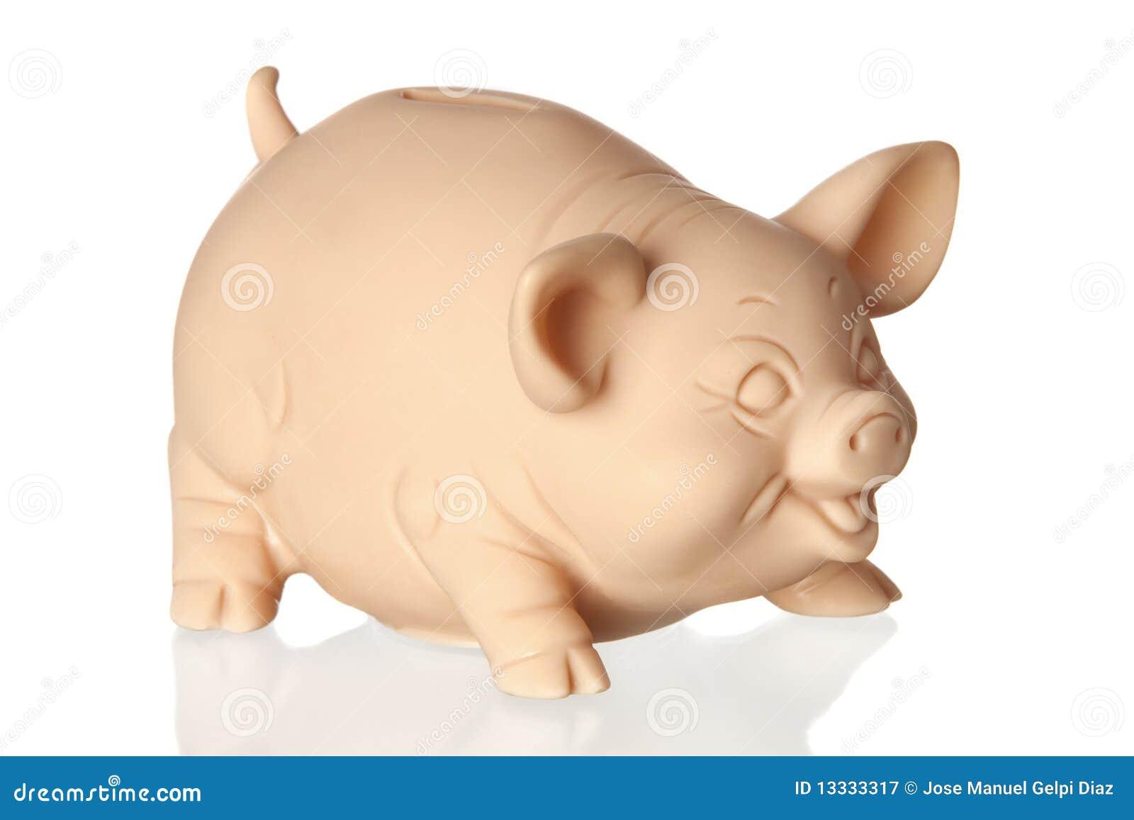 Banka podłogowy prosiątka odbicie