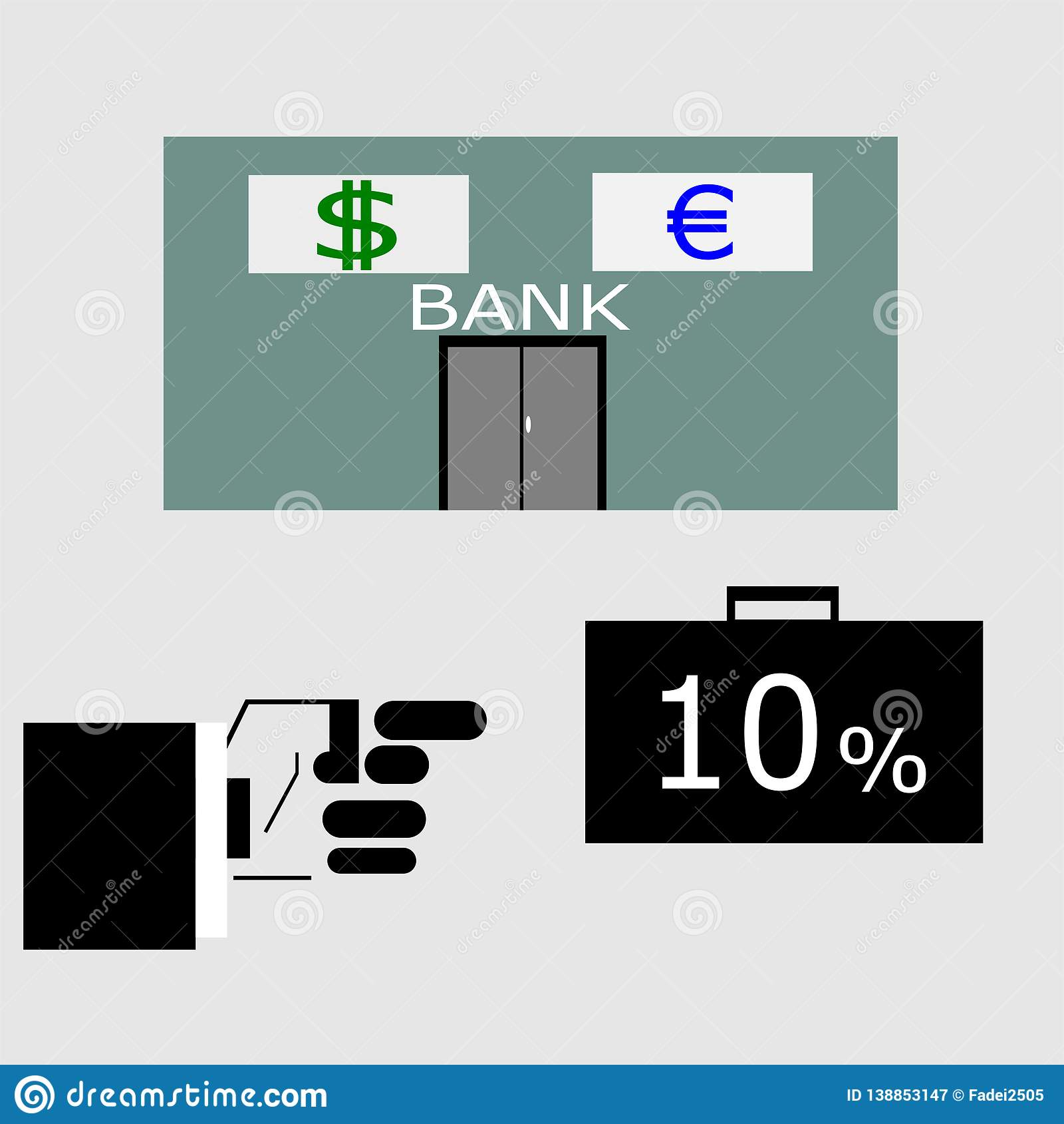 Interest on the bank and loan business.