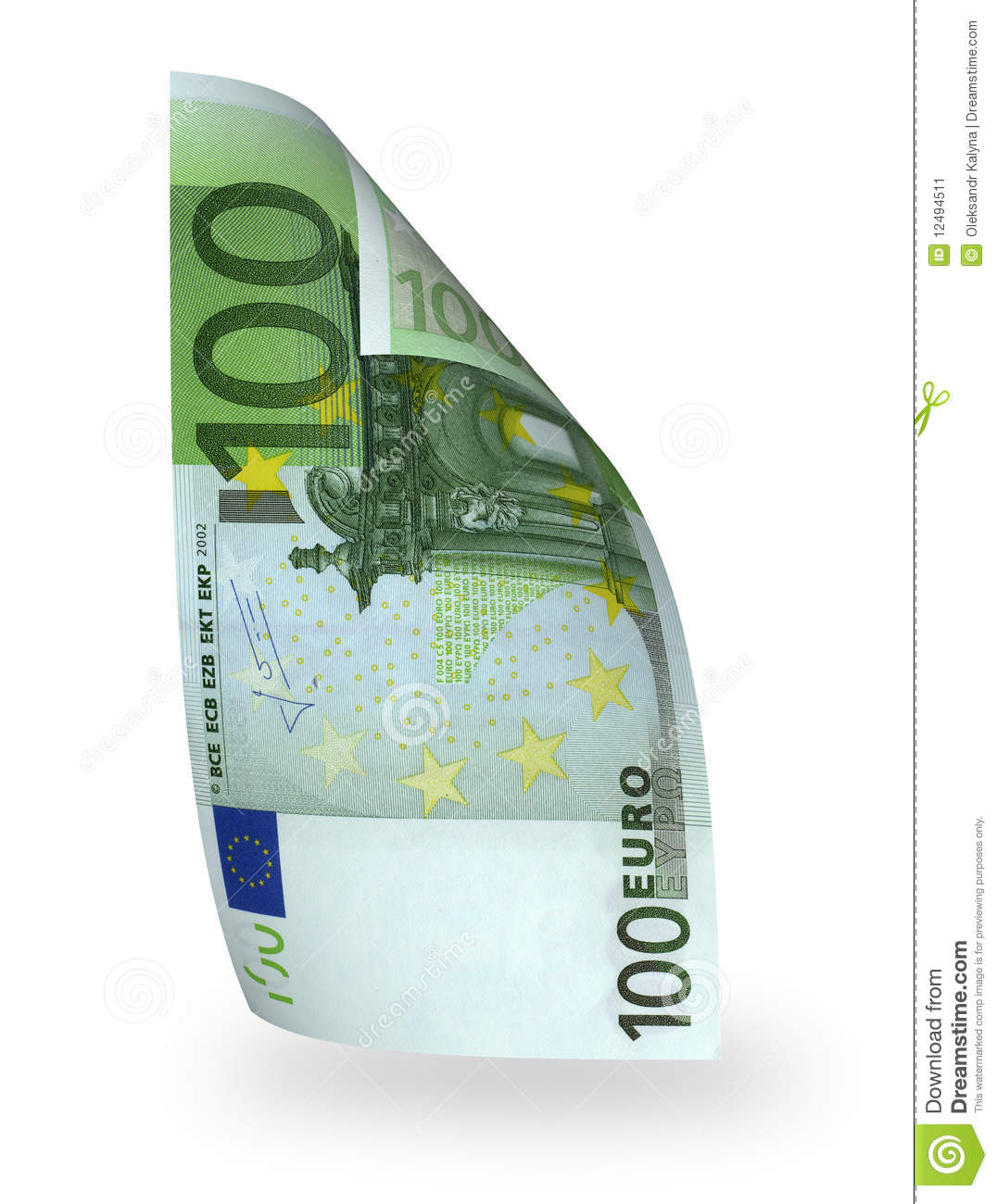 Banknote 100 euro stock image image of falling finances for Canape a 100 euros