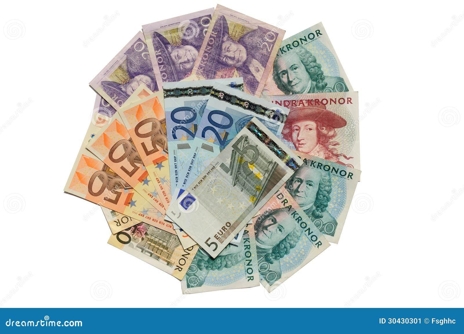 69 euro in sek