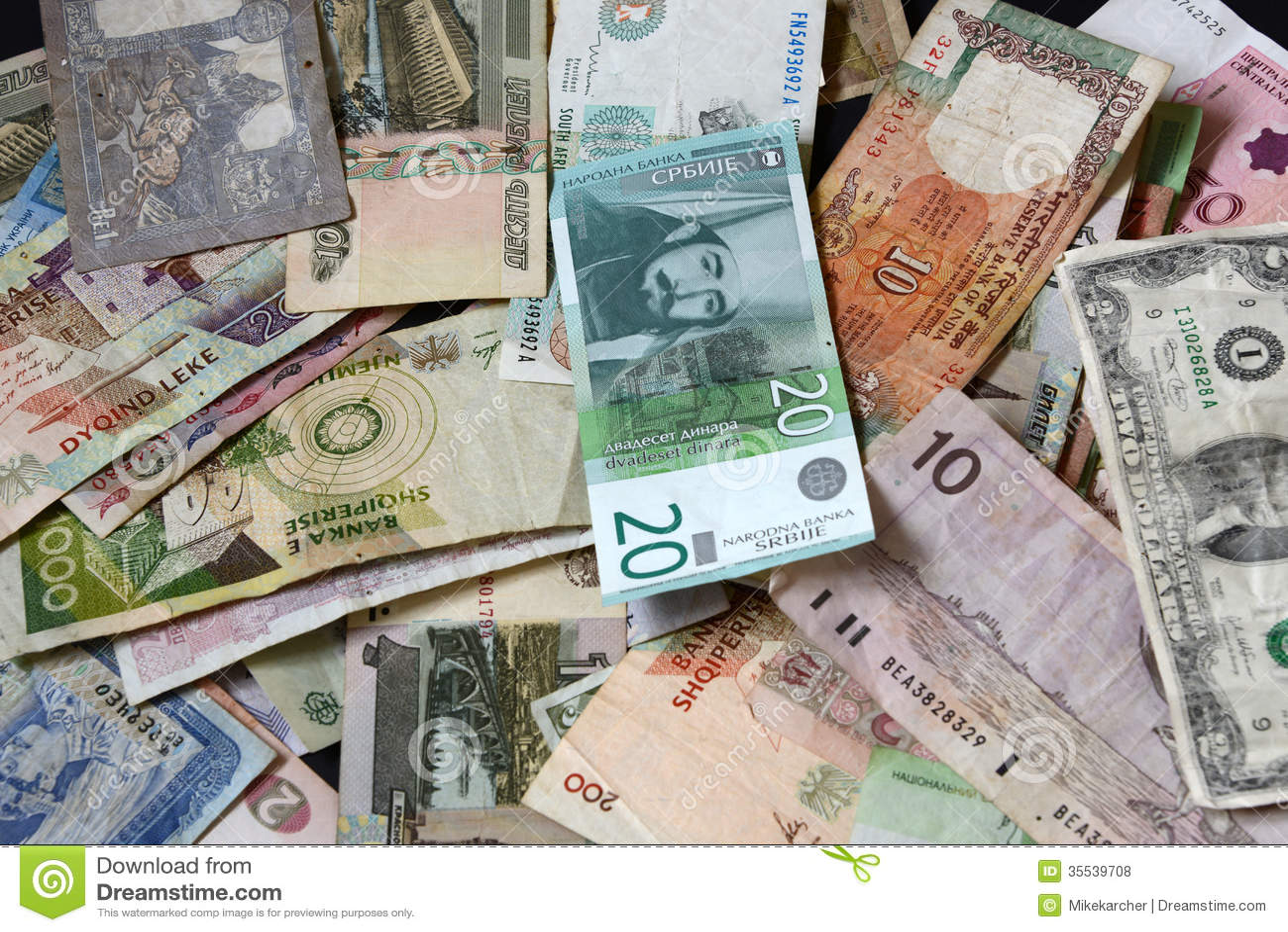 Banknotes Royalty Free Stock Photos - Image: 35539708