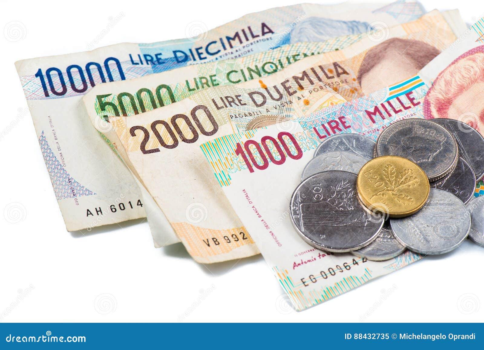 how to say money in italian
