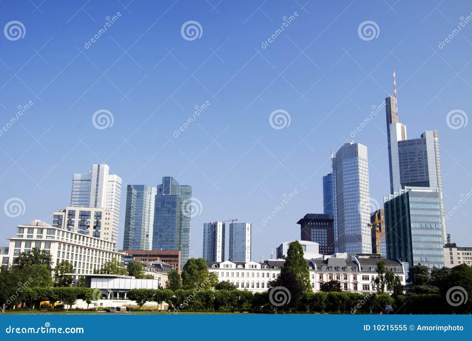 The banks of Frankfurt