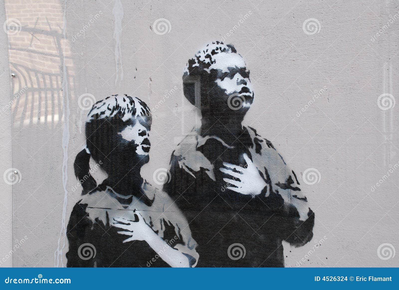 Banksy neuf - groupe