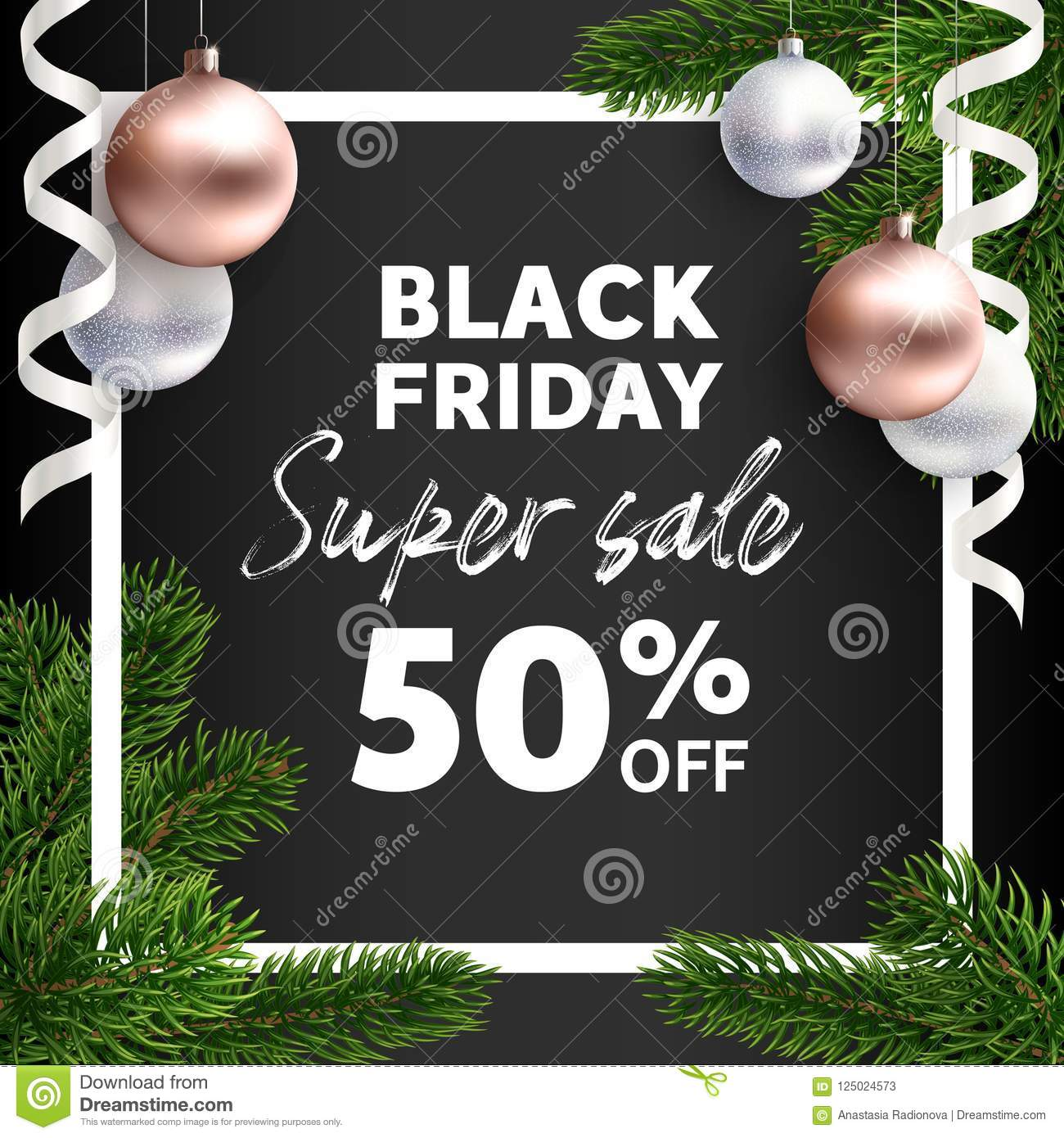 banner black friday sale vector flyer template stock vector jpg 1300x1390 christmas tree sale flyer template - Black Friday Christmas Tree Sale