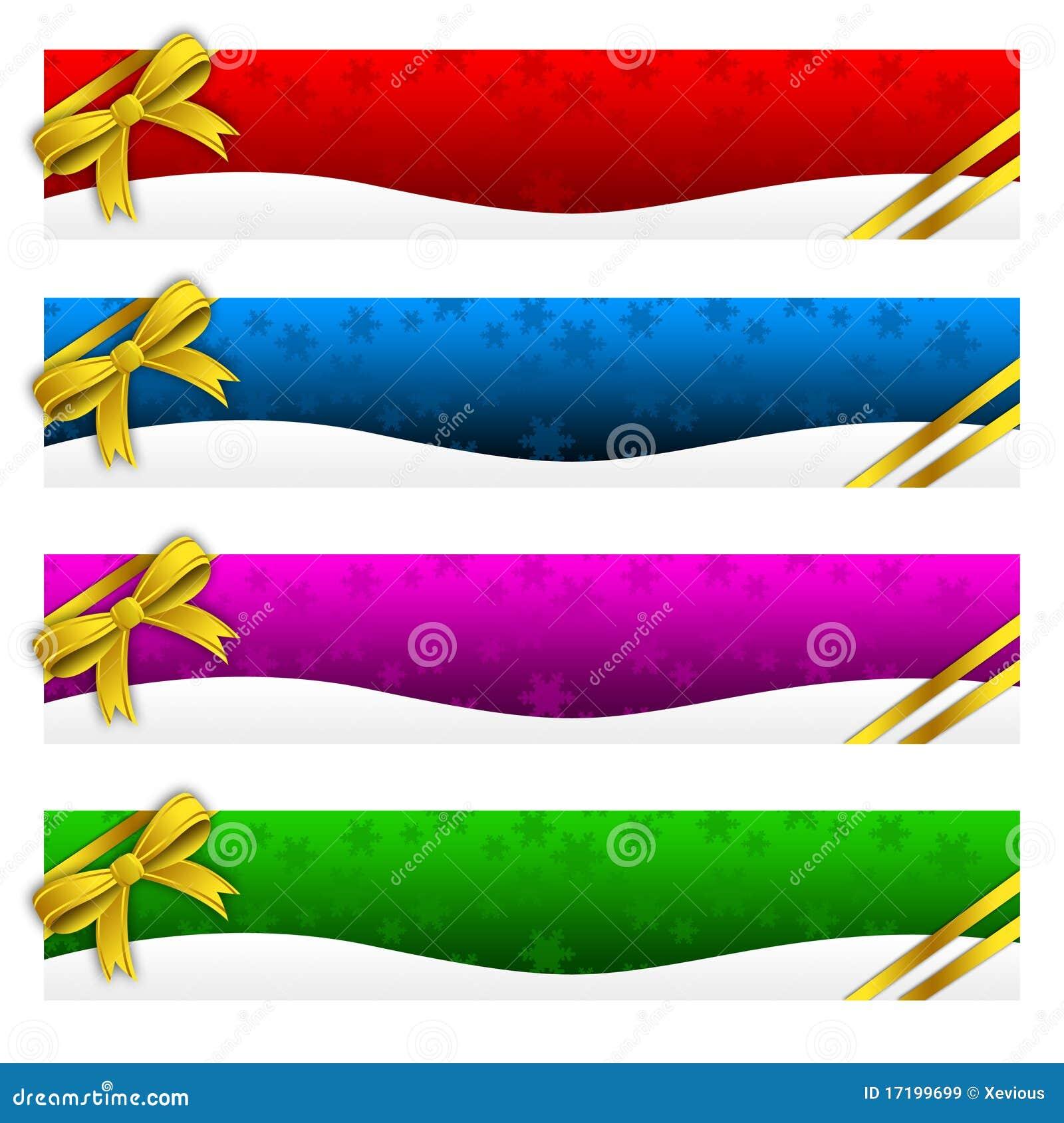 Banner, de Winter, Vakantie, Kerstmis