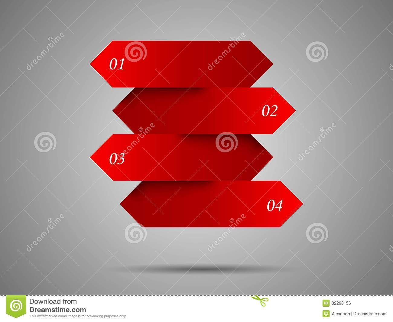 Banner Design Arrows Royalty Free Stock Image - Image: 32290156