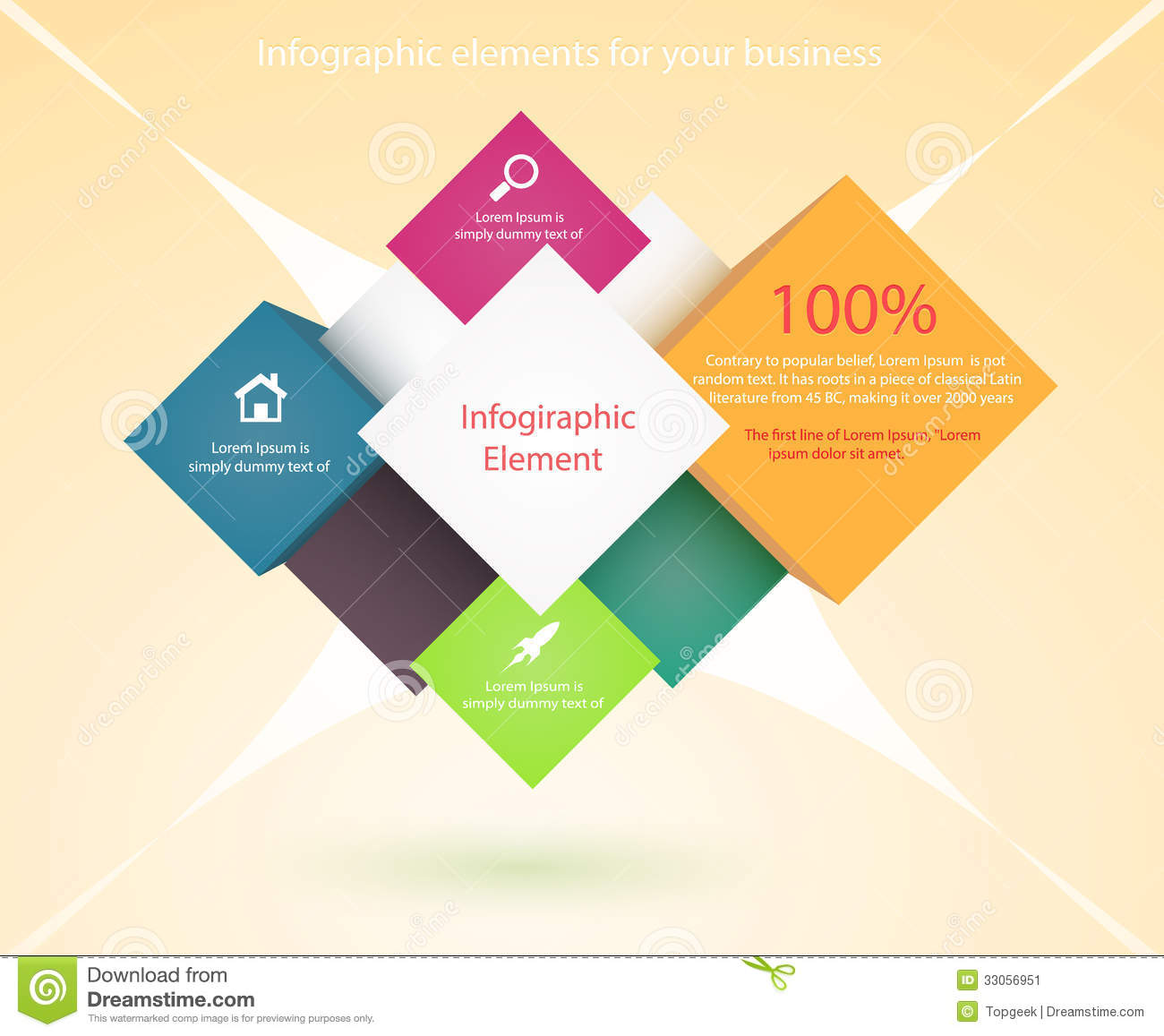 Banner design template stock illustration image of business banner design template pronofoot35fo Choice Image