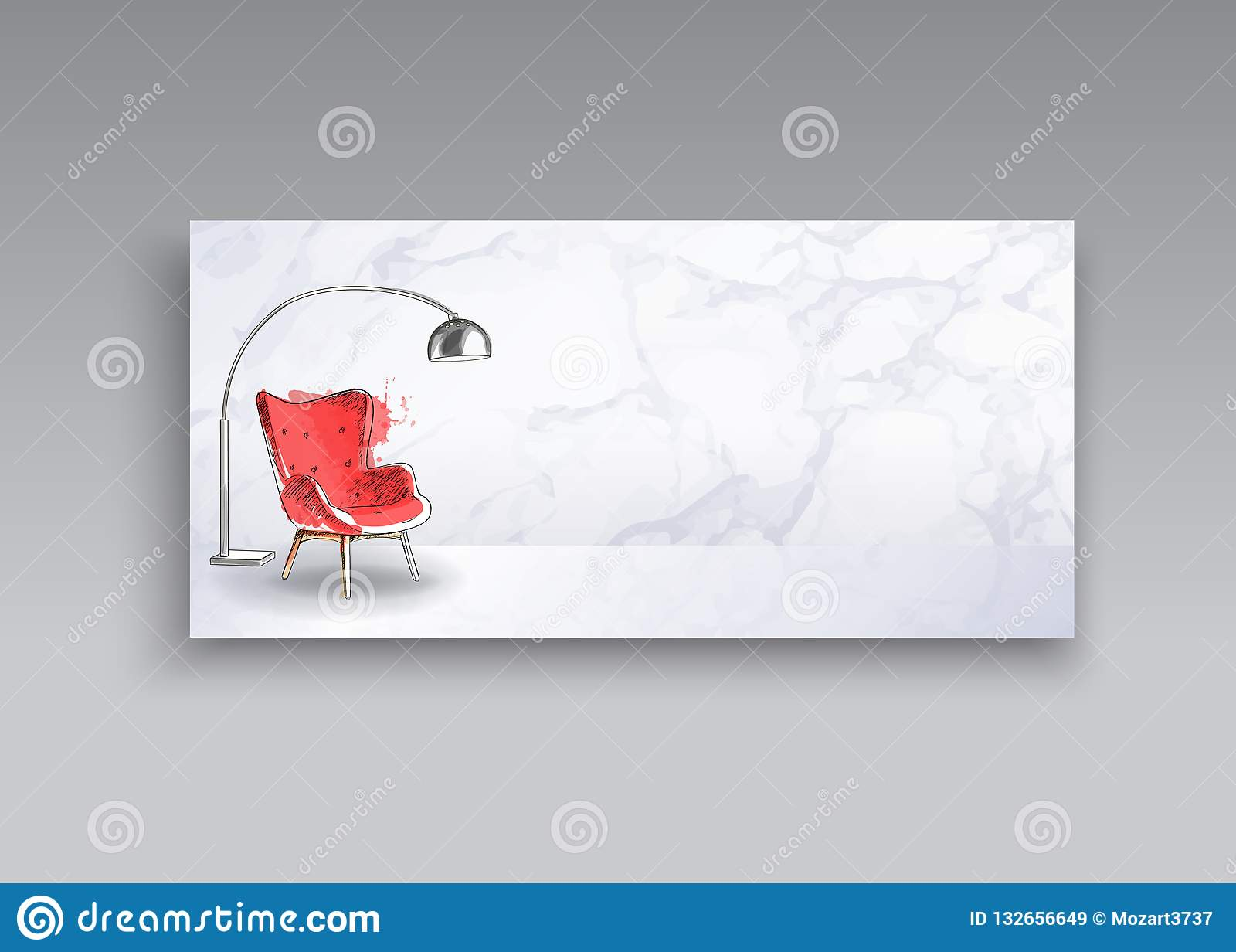 Admirable Banner Of Hand Drawn Furniture Store Apartment Promotion Inzonedesignstudio Interior Chair Design Inzonedesignstudiocom