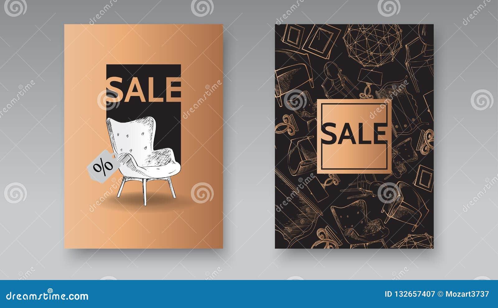 Brilliant Banner Of Hand Drawn Furniture Store Apartment Promotion Inzonedesignstudio Interior Chair Design Inzonedesignstudiocom