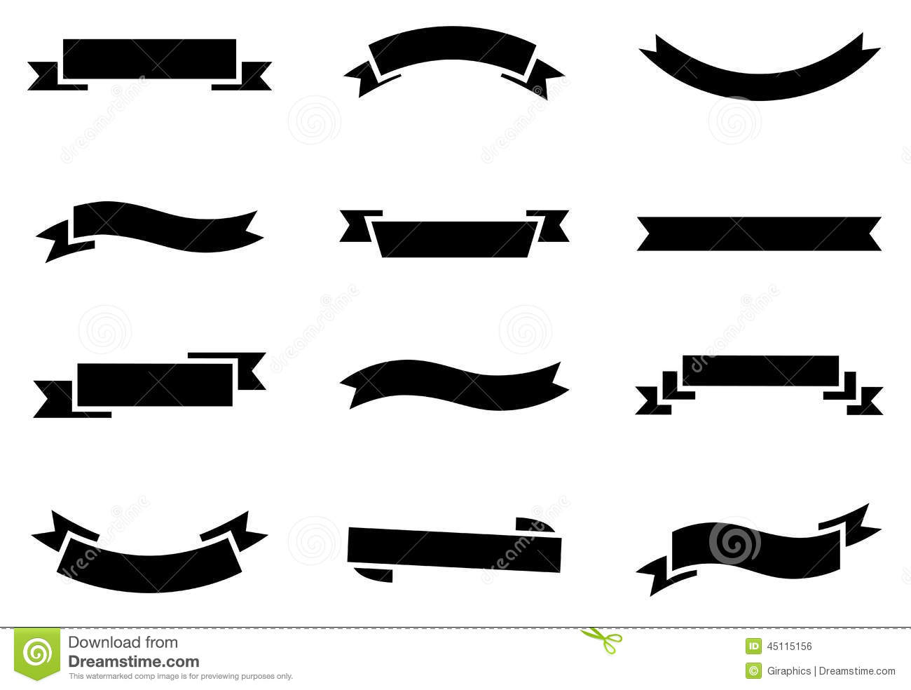 Banner Icons stock vector. Image of illustration, clip ...