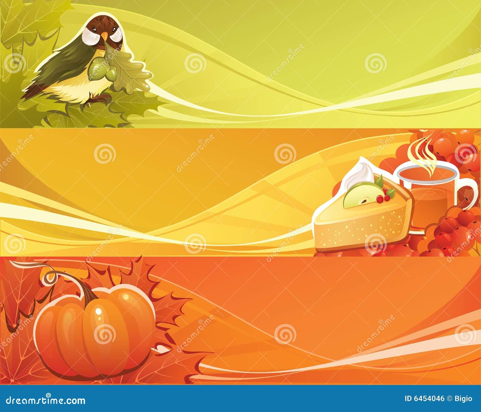 Banner jesieni