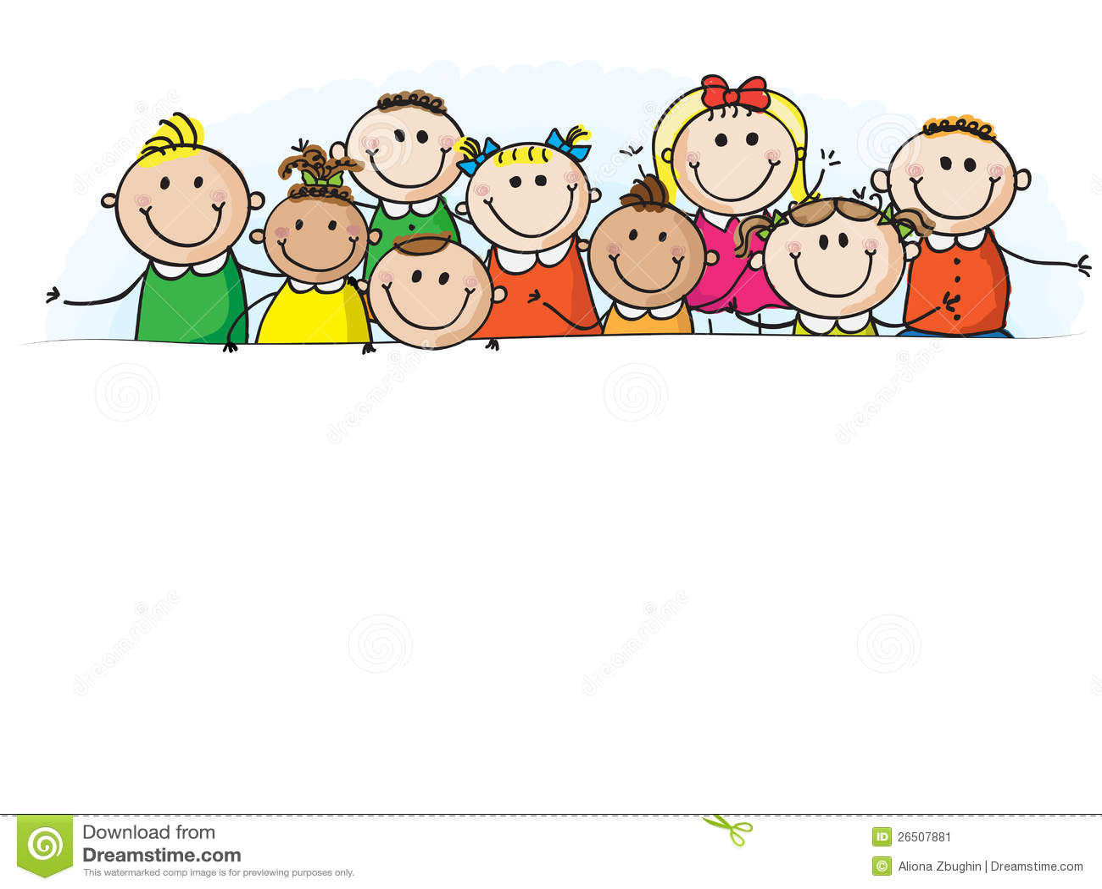Banner Kids Stock Image Image 26507881