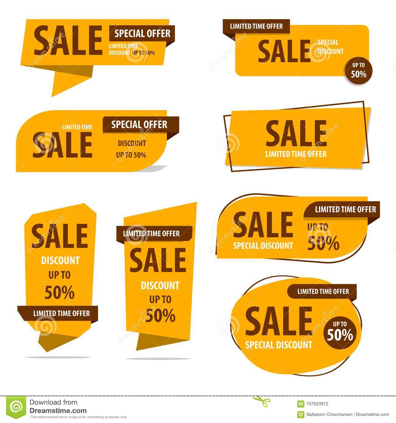 Banner, Label, Vector, Discount, Design, Sale, Offer, Special, B