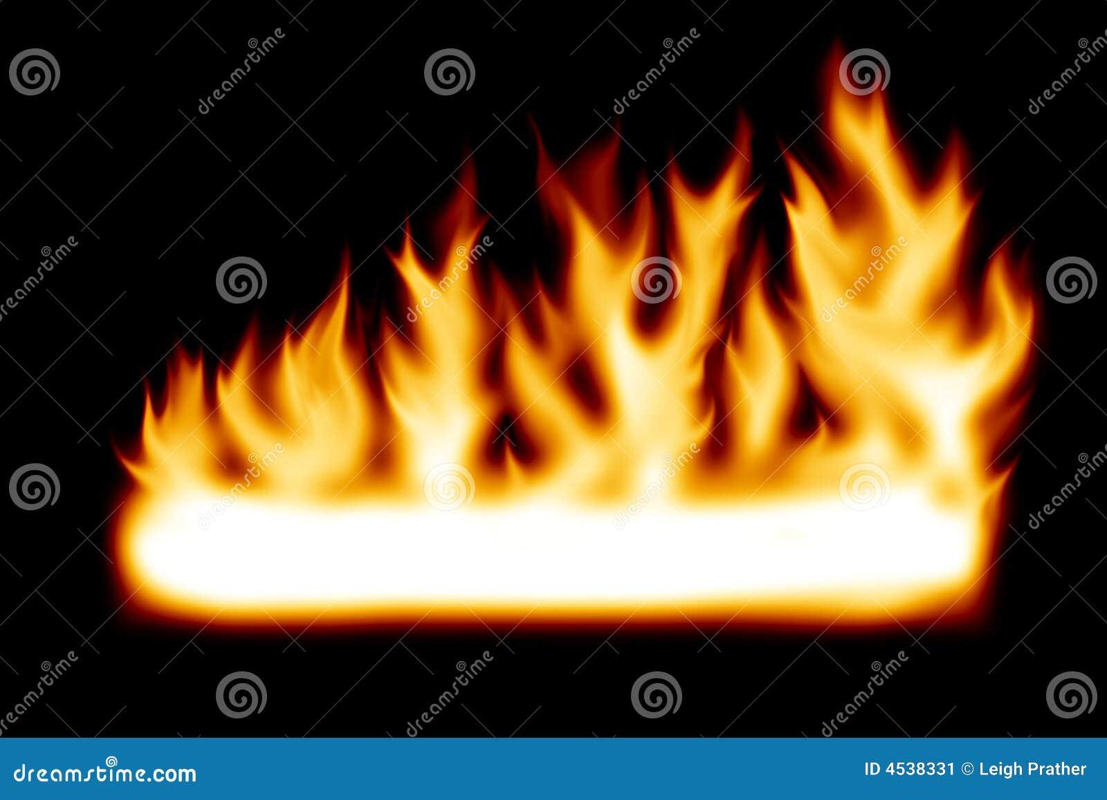 Banner ogień
