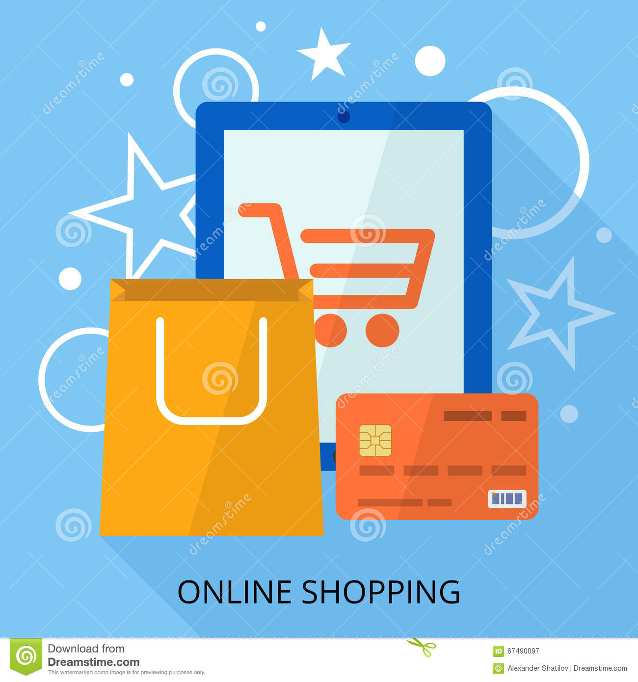 Credit online shopping