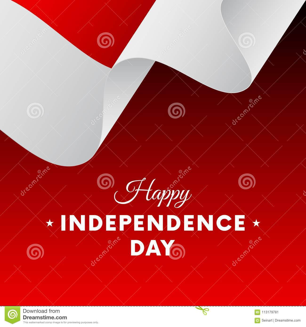 Download Banner Or Poster Of Indonesia Independence