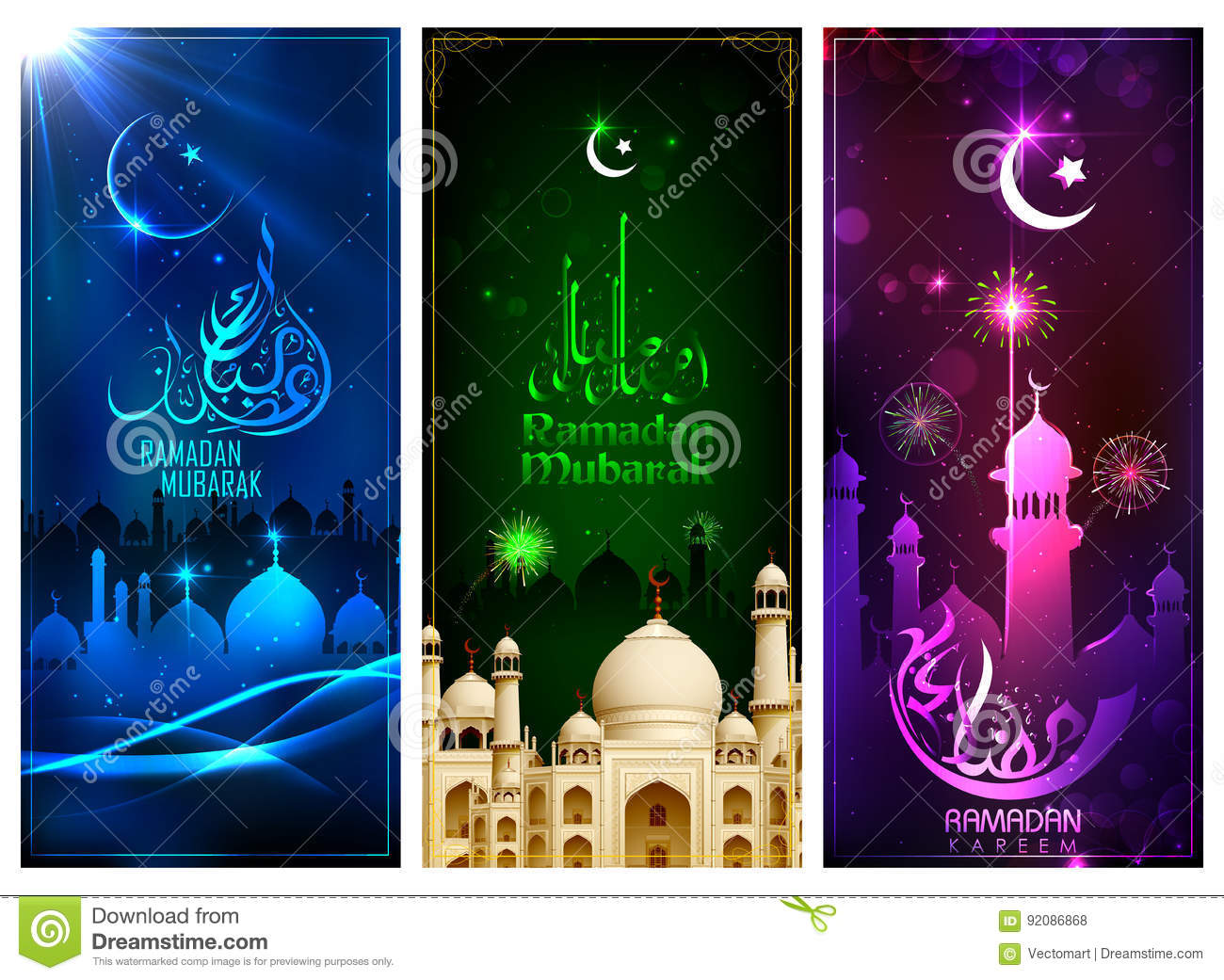 Banner template for eid with message in arabic urdu meanig ramadan download banner template for eid with message in arabic urdu meanig ramadan mubarak stock vector m4hsunfo