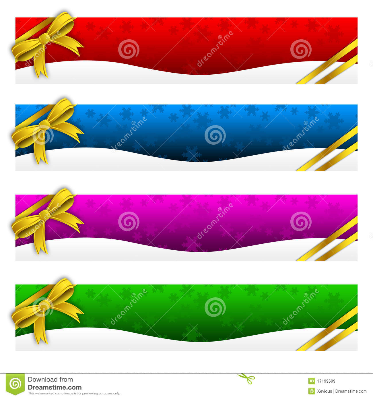 Banner, Winter, Holidays, Christmas